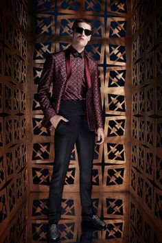 Roberto Cavalli Spring 2014 Menswear Collection Slideshow on Style.com