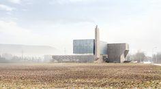 Penzel . KEBAG Waste incineration plant . Zuchwil (1)