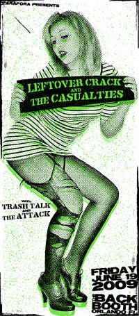 GigPosters.com - Leftover Crack - Casualties, The - Trash Talk - Attack, The