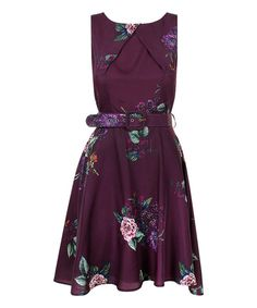 Look at this Plum Camille Dress on #zulily today!