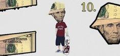 Make Abe Lincoln Look Like a B-Boy ($5-Dollar Bill Origami)