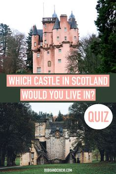 Let's all escape to a fantasy world where we all live in castles in the gorgeous land and surrounded by the beauty of Scotland? Take this fun personality quiz Aberdeenshire Scotland, Aberdeen Scotland, Highlands Scotland, Scotland Uk, Scotland Travel Guide, Europe Travel Guide, Europe Destinations, Travel Plan, Places In Scotland