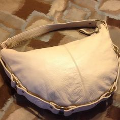 d1acbe44a7d Selling this CREAM HOBO HANDBAG...CLEARANCE  16 in my Poshmark closet! My  username is  mrschi.  shopmycloset  poshmark  fashion  shopping  style   forsale ...
