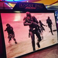 """Voilà. J'ai vu #RogueOne . Une vraie grande """"Star Wars Story"""" ! Ma critique complète demain à 18h :) #StarWars #StarWarsRogueOne #Lucasfilm"""