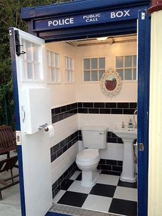Well, there are times when it's an emergency and you NEED a police box!  Wish I had a use for one now, since the UK sells retired public fixtures like phonebooths off.