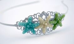 Under The Sea Headband by piecesofaprilmel on Etsy, $15.00