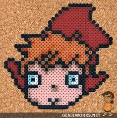 Ponyo 'Small' Perler by genjiworks.deviantart.com on @deviantART