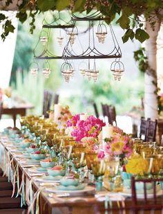 beach wedding reception decor - Google Search