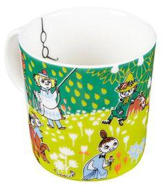 Tove Jansson - new Moomin mug 2014