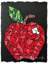 Bildergebnis für bügelperlen vorlagen zum ausdrucken herbst Drawing For Kids, Painting For Kids, Art For Kids, Crafts For Kids, Paper Mosaic, Mosaic Art, Autumn Crafts, Autumn Art, Fruit Crafts
