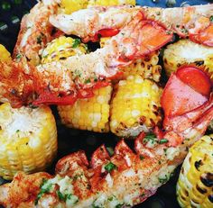 Nothing says summer like some lobster and corn on the cob!   What do you think?