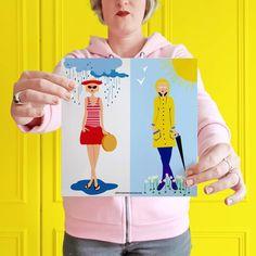 n ce moment avec la météo, j'ai beaucoup de mal à ajuster ma garde robe. #lesillustrationsdaurelmw -------- 🇬🇧 At the moment with the