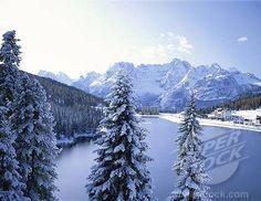 Winter in Italian Alps