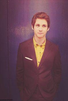 Logan Lerman...oh he's perfect <3