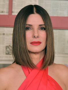 "Sandra Bullock on Finally Cutting Her Hair: ""My Hair Was There to Help Me Hide"" - *Hollywood Actresses*  IMAGES, GIF, ANIMATED GIF, WALLPAPER, STICKER FOR WHATSAPP & FACEBOOK"