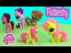 DIY My Little Pony Fluttershy Inspired MLP LPS Littlest Pet Shop Toys 2015 Clay Custom Craft Video - YouTube