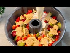 ΥΠΕΡΒΟΛΙΚΟΣ ΔΕΣΣΤΕΡ ΣΕ 5 ΛΕΠΤΑ για να κάνετε αμέσως! ASMR # 162 - YouTube Flan, English Food, Soft Serve, Eating Raw, Beignets, Vegan Gluten Free, Fruit Salad, Sweet Treats, Vegetarian