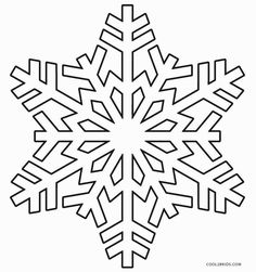 46 Best Snowflakes Images In 2019 Coloring Pages For Kids