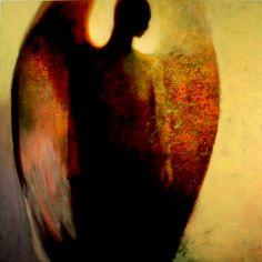 "Saatchi Online Artist Steven DaLuz; Painting, ""Sentinel"" #art"