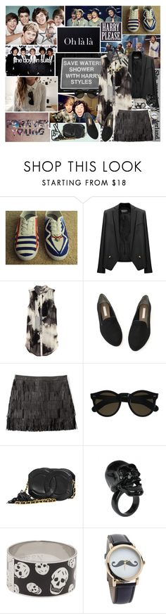 """""""Let us die young or let us live forever"""" by lulev ❤ liked on Polyvore featuring Payne, Take Off Your Clothes, Vans, Made of Me, Balmain, H&M, MICHAEL Michael Kors, Beau Coops, Chanel and Adia Kibur"""