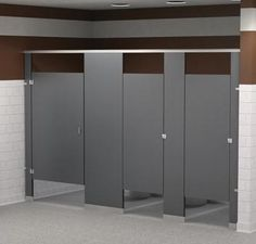commercial bathroom partitions are an important component of a multi person restroom providing privacy and style in your restrooms using a - Commercial Bathroom Partitions