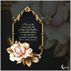 Discussion on LiveInternet - Russian Online Diaries Service Flower Frame, Flower Art, Ideas Decoracion Salon, Islamic Cartoon, Eid Cards, Floral Logo, Background Vintage, Frame Background, Borders And Frames