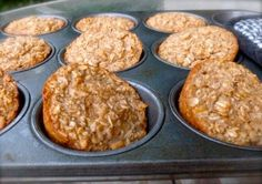 "Healthy Individual ""Banana Bread"" Baked Oatmeal Muffin Cups #weightwatchers #smartpoints: 4 http://simple-nourished-living.com/2012/05/individual-baked-banana-bread-oatmeal-muffin-cups/"