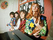 Stock Photo - THE FOOL Dutch design collective at their studio in the Beatles Apple Building in Baker Street in Photo Tony Gale Apple Building, Swinging London, Cool Kids Clothes, Boho Life, Baker Street, 70s Fashion, Apple Stock, Hippy, Fashion Advice