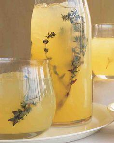 Martha Stewart's Vodka-Thyme Lemonade