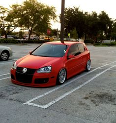Clean Red MK5