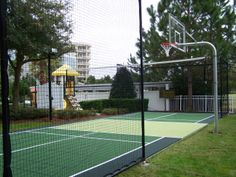 Our renowned Colorado basketball courts and Colorado tennis courts all possess a durable, aesthetically appealing gym flooring surface. In fact, our company's court and gym floor surfaces are custom designed for a host of sports. In Ground Basketball Goal, Backyard Basketball, Outdoor Basketball Court, Basketball Goals, Basketball Equipment, Outside Activities, Outdoor Gym, State Of Colorado, Netball