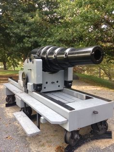 Armstrong Rifled Cannon, 150-pdr captured at Fort Fisher.