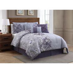 House of Hampton 7 Piece Comforter Set Master Bedroom, Bedroom Decor, Bedroom Ideas, Master Suite, Bedroom Stuff, Bedroom Inspiration, Dream Bedroom, Teen Bedding, Bedroom Comforters