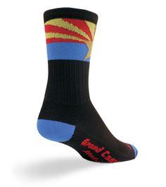 SockGuy SGX Arizona Flag Socks Grand Canyon State! $12.95