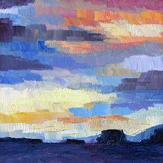 Late December West Coast Sunrise  oil painting by Terrill Welch