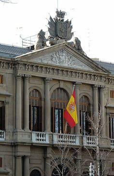 Edificio de la antigua Capitanía Militar, Zaragoza España.