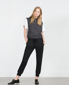 JOGGING TROUSERS-View all-Trousers-WOMAN | ZARA United States