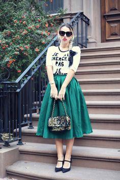 Midi Skirts Trend