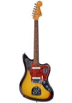 Fender Fender Jaguar 3 Tone Sunburst 1965 Fender Jaguar, Black Felt, Alternative, Product Launch, Guitars, Black Fedora