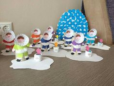 Art For Kids, Crafts For Kids, Polo Norte, Christmas Art Projects, Snow Theme, Polar Animals, Snow And Ice, Winter Art, In Kindergarten