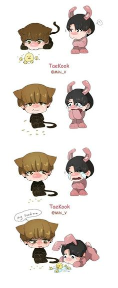 Oh fuck that's too cute. Oh my VKook