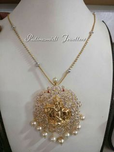 Gold Jewelry For Brides Key: 8655860141 Gold Chain Design, Gold Jewellery Design, Bead Jewellery, Beaded Jewelry, India Jewelry, Handmade Jewellery, Fancy Jewellery, Kids Jewelry, Antique Jewellery