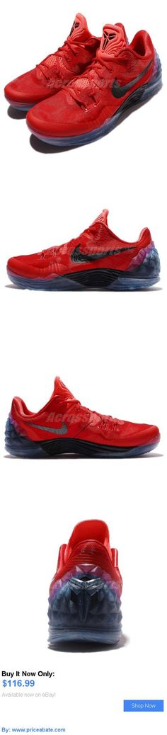Basketball: Nike Zoom Kobe Venomenon 5 Ep V Bryant Red Black Men Basketball Shoes 853939-606 BUY IT NOW ONLY: $116.99 #priceabateBasketball OR #priceabate