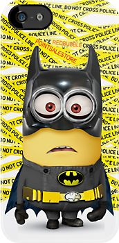minion BATMAN iphone case