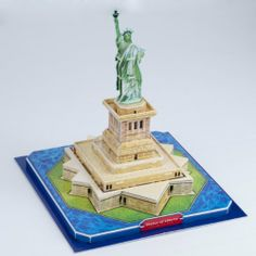 Weanas The Statue of Liberty 3D Puzzle Building Set DIY Toy Paper Model Souvenir for Ages 3 and up from Teen to Adult by Weanas, http://www.amazon.com/dp/B00FOHER80/ref=cm_sw_r_pi_dp_ITYIsb0EV6EQE