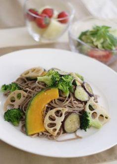 「おそばの野菜もりもりペペロンチーニ」みら | お菓子・パンのレシピや作り方【corecle*コレクル】