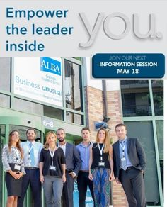 """""""Position Yourself for Success"""" Join ALBA Info Session on May 18 Professional Goals, School Info, Career Development, Business School, Graduation, Join, Success, Positivity, Events"""