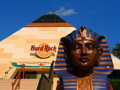 Myrtle Beach, SC - The Hard Rock Cafe Pyramid