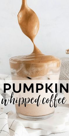 Pumpkin Spice Whipped Coffee What Is Pumpkin Spice, How To Make Pumpkin, Pumpkin Spice Coffee, Easy Coffee, Spiced Coffee, Coffee Recipes, Pumpkin Recipes, Fall Recipes, Dinner Recipes