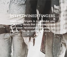 Intertwined Fingers with Daryl and Beth - Bethyl - the Walking Dead